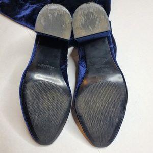 Zara Shoes - ZARA Size 9 Over Knee Velvet Sock Boots